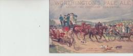 Worthington,s  Pale  Ale  -  Derby  Day  -  Arriving  At  Epsom - Publicité