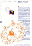 """(Prix à La Poste = 5 €) Document Officiel De 2004 N° 21 04 540 """" HALLOWEEN """" N° YT 3713. DPO - 2000-2009"""