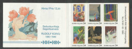 FINLANDE 1990 - CARNET  YT C1080 - Facit H14 - Neuf ** MNH - Rudolf Koivu - Finlande