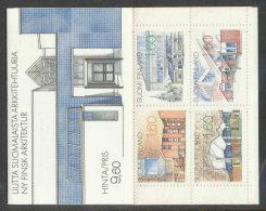 FINLANDE - 1986 - CARNET  YT C951 - Facit H8 - Neuf ** MNH - Nouvelle Architecture Finlandaise - Markenheftchen