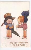 TUCK'S POSTCARD WWI PROPAGANDA - S. HURLEY - A CALL TO ARMS - N. 8874 ( A ) - Tuck, Raphael
