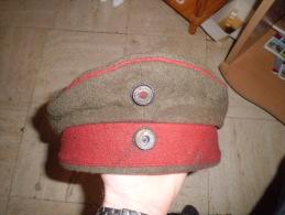 Très Ancien Calot Militaire 14-18 - Equipement