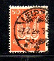 GERMANIA IMPERO 1924 , Posta Aerea  N . 23  Usato - Poste Aérienne