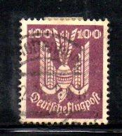 GERMANIA IMPERO 1924 , Posta Aerea  N . 24  Usato - Poste Aérienne