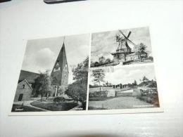 Gettorf Kirche Mühle Kriegerehrenmal Germany - Gettorf