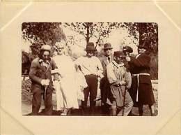 02 - 130216 - PHOTO BRAINE Mai 1921 - Déguisement Mariage Homme - France