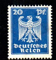 GERMANIA IMPERO 1924 , N . 351  * . Aquila - Deutschland
