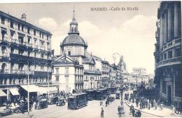 MADRID Calle De Alcala  Unused TTBE - Madrid