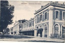 MADRID Estacion Del Norte Unused TTBE - Madrid