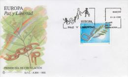 Enveloppe  FDC  1er  Jour   ESPAGNE    EUROPA    1995 - 1995