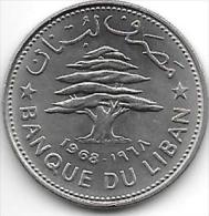 *lebanon 50 Piastres 1968  Km 28.1    Unc - Liban