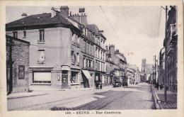 "51 - REIMS  - Rue Gambetta - Commerces - ""Etablissements Economiques"" Mauroy - Reims"