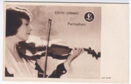 Edith Lorand Violinist Violin Geige Geiger Music Musique Musik Instrument Parlophon, Hungary Jewish - Musica E Musicisti