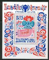 HUNGARY-1979.Souv.Sheet - International Year Of Children MNH!  Mi.Bl.141. - Ungebraucht