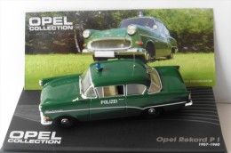 OPEL REKORD PI POLIZEI 1957 1960 IXO ALTAYA 1/43 GRUN GREEN VERT VERDE POLICE - Cars & 4-wheels