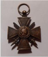 Médaille Croix De Guerre 1914 - 1917 - France
