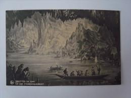 1 Cpa - Belgium - Grottes De Han (2 Scans) - Bélgica