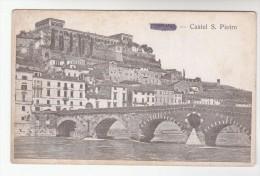 C1914 CASTEL S PIETRO VERONA Italy Postcard Bridge - Verona