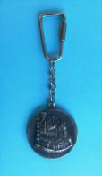 SAINT BLAISE - DUBROVNIK Croatia Old Keyring Keychain Key-ring Key Chain Porte-clés Schlüsselring * ST. BLAISE Religion - Key-rings