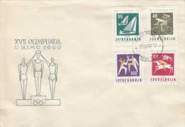 OLYMPISCHE SPIELE-OLYMPIC GAMES, ROME 1960, Special Cover/stamp/postmark !! - Zomer 1960: Rome