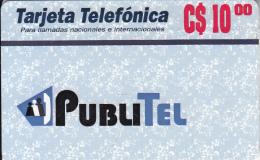 NICARAGUA - PubliTel Prepaid Card C$10, Mint - Nicaragua