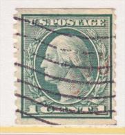US 490   ROTARY PRESS  PERF. 10  (o)   No Wmk.  1916 Issue - Coils & Coil Singles