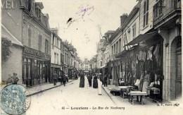 27 LOUVIERS La Rue Du Neubourg TRES Animée - Louviers