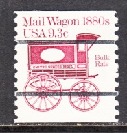 US  1903 A     **   MAIL  WAGON - Coils & Coil Singles