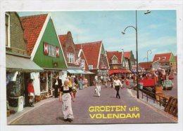 NETHERLANDS  - AK 260818 Groeten Uit Volendam - Volendam