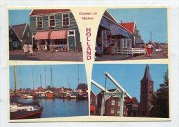 NETHERLANDS  - AK 260832 Groeten Uit Marken - Holland - Marken