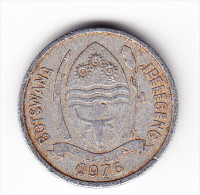 1976 Botswana 1 Thebe Coin - Botswana