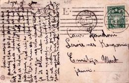 LATVIA-LETTLAND-STAMPS-POSTCARD-CANCEL-LAUDONA-a-28.1.1923. - Lettonie