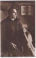 Germany Deutschland, Albert Bassermann, German Stage And Screen Actor, Cinema Movie Cellist Music Musique - Music And Musicians