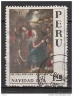 ##34, Pérou, Peru, Noël, Christmas, Madonne, Religion, Art, Peinture, Painting - Pérou