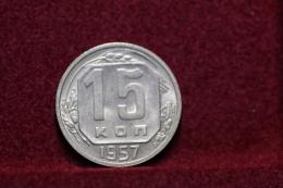 Russia 15 Kopeks 1957 Y#124. (inv1226) - Russia