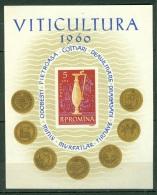 Roumanie  Yvert  BF 49  Ou Michel  Bl 45  ( * )   TB   Vin - Blocks & Sheetlets