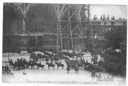 VISITE DES SOUVERAINS RUSSES A LA CATHEDRALE DE REIMS  19 SEPTEMBRE 1901   *****    A SAISIR   ******* - Reims