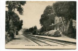 CPA  21  : BLAISY BAS  La Gare    1926      A  VOIR  !!!!!!! - Autres Communes