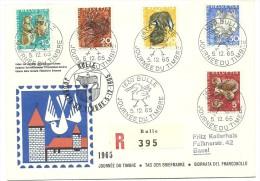 Cover - Journée Du Timbre - Bulle - Basel - 1965 - Svizzera