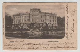 Germany Deutschland Putbus Mecklenburg Schloss Castle Rückseite 1900 Post Card Postkarte POSTCARD - Allemagne