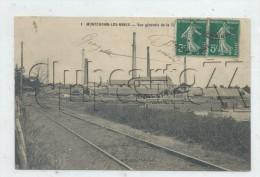 Montchanin-les-Mines  (71) : L'usine De Tuilerie Vue De La Voie De Chemin De Fer Env 1910  PF. - La Valette Du Var