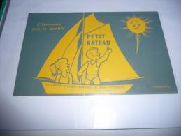 BUVARD    Blotting Paper : Buvard PETIT BATEAU ...SOUS VETEMENTS - Textile & Vestimentaire
