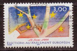 FRANCE - 1999 - YT  N° 3237 - Oblitéré - Parlement Européen - Frankreich