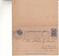 Finlande - Entier Postal De 1907 - Oblitération Helsinki - En  3 Langues - Enteros Postales
