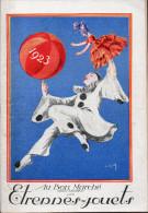 Catalogue AU BON MARCHE étrennes Jouets 1923 (CAT086) - France