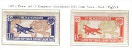 Russia 1927 1° Congresso Internazionale Della Posta Aerea Cod.fra.686 - 1923-1991 USSR