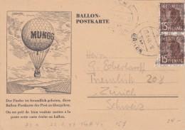 GERMANIA / DEUTSCHLAND 1948 - BALLON POSTKARTE -  SX210 - Alemania