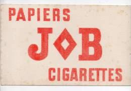 Buvard - Papier JOB Cigarettes  (en Carton) - Löschblätter, Heftumschläge