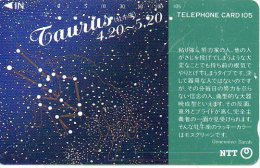 Taureau Taurus Zodiaque Zodiac Télécarte  B 301 - Zodiaco