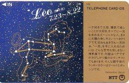 Lion Leo Zodiaque Zodiac Télécarte  B 302 - Dierenriem